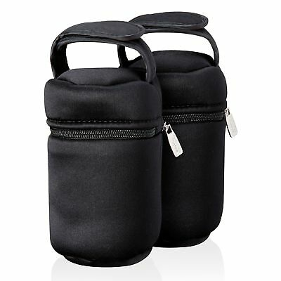 Travel Insulated Bottle Bag Portable Baby Food Warmer Infant Milk Warming 2 Pack