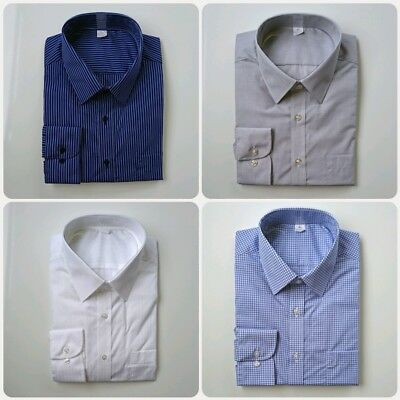 Ex M&S REGULAR FIT COTTON BLEND EASYCARE SHIRTS VARIOUS DESIGNS  BNWOT 14.5-18.5