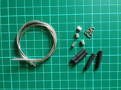 Rock Crawler RC 1:10th Scale Steel Wire/cable  Accessories
