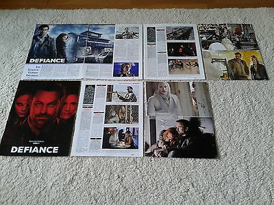 Sammlung  Berichte/Clippings  Science Fiction  Serie  Defiance  Grant Bowler