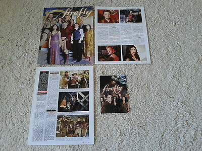 Sammlung Berichte /Clippings  SF  Serie  Firefly  Nathan Fillion, Gina Torres