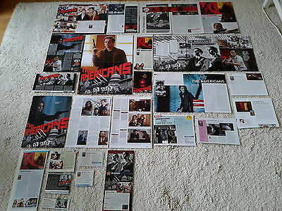 Sammlung Berichte /Clippings/Poster Spionage  Serie  The Americans  Keri Russell