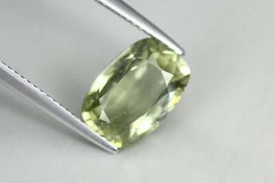 "4.700 Ct Huge Unique Very Rare Green 100% Nr"" Kornerupine Cat's Eye India Mine"