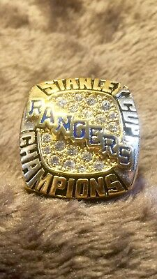 New York Rangers NHL Messier Stanley Cup Champions Ring
