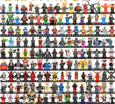 DC Marvel Super Hero Minifigures Blocks Building Toys Compatible With Main Brand