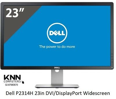 Dell P2314H 23in DVI/DisplayPort 1080p 1920x1080 8ms Widescreen IPS LED