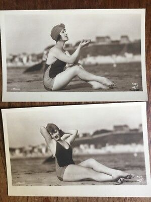CPA Nu Two Sexy Carte Postales Vintage Pin Up Photos