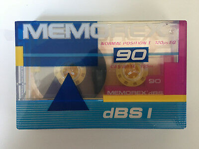 Memorex dBS1 90 Cassette Tapes - Brand New and Sealed