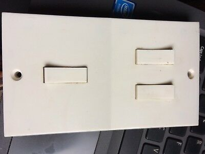 Vintage Volex Light Switch With 3 Switches Very Different 50s 60s