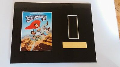 SUPERMAN 3....Original Limited Edition film cells mounted ,