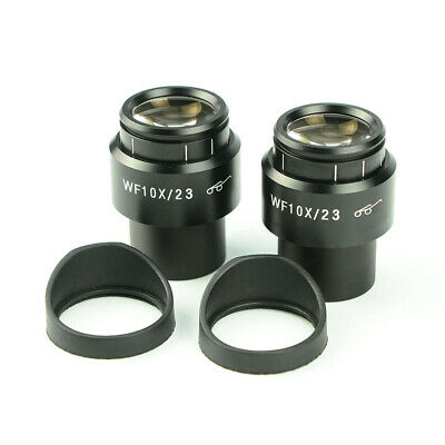 10X Microscope Eyepiece 30mm Adjustable Diopter High Eye Relief Optics Lens