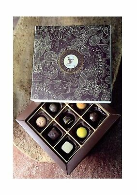 Scatola texture cacao praline assortite Stainer