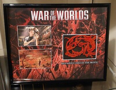 War Of The Worlds Tom Cruise Alien Red Weed Display Prop