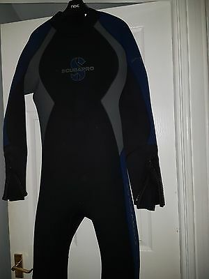 Scubapro 5mm Semi Dry Suit Mens size M/L. Immaculate Condition
