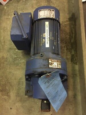 Sumitomo SM-Cyclo HHMS05-610BYC-B-4 Gearbox 43:1 Ratio With 3PH Induction Motor