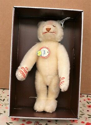 Steiff Limited Edition Dicky White Teddy -  Mint Boxed