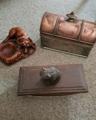 Beautiful Antique Ink Well Set