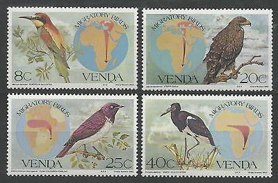 VENDA 1983 S.G. 71 - 74  Set-4  M.N.H. BIRDS
