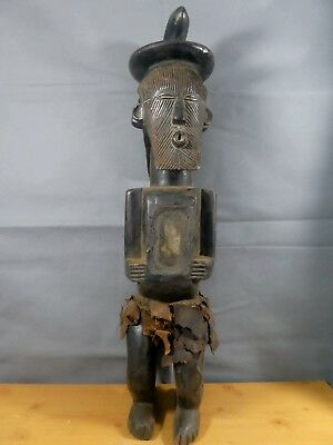 Old Tribal Songye Double faced figure Congo Africa........fes-gb423