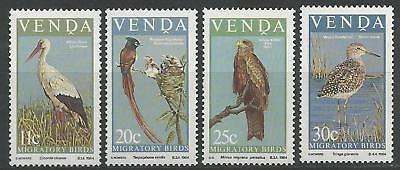 VENDA 1984 S.G. 91 - 94  Set-4  M.N.H. BIRDS