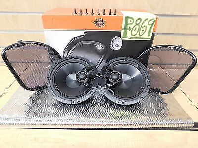 """Harley-Davidson, """"Touring Boom!"""" 6.5"""" STAGE ONE  Audio Fairing Speakers"""