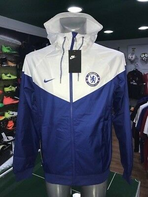 Giacca Vento Calcio Jacket Authentic Windrunner Nike 2017/2018 Chelsea Blues
