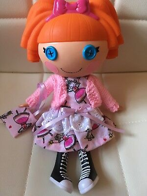 Lalaloopsy Handmade Dolls Clothes Dress,Cardigan And Bag Outfit