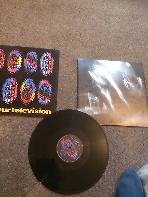 "Ned's Atomic Dustbin ‎– Kill Your Television 12"" Vinyl Single Record 12CHAP48 UK"