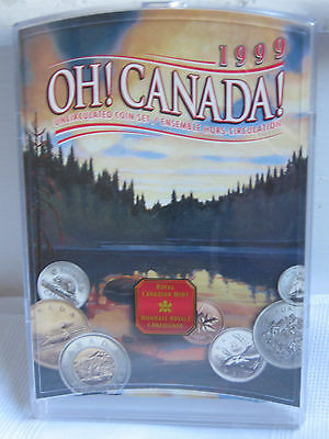 1999 Oh! Canada! Canadian Uncirculated Coin Set