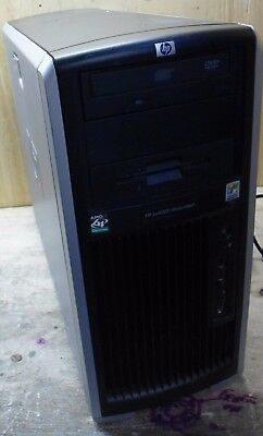HP XW9300 Workstation - 4GB RAM - No HDD, GPU, - 2x Opteron 250 @ 2.8Ghz |