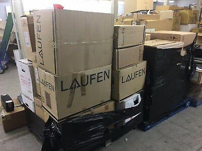 3 Pallets of Laufen Toilets & Sinks - BRAND NEW