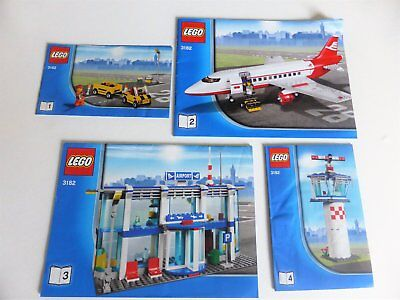 Lego 3182 City Airport - INSTRUCTIONS ONLY / NO BRICKS