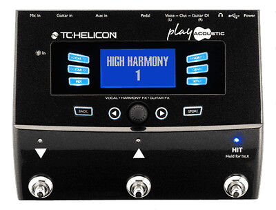 TC HELICON Play Acoustic Vocal and Guitar FX Pedal