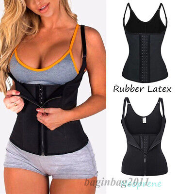 HOT Women Waist Trainer Corset For Weight Loss Neoprene Shaper With Zipper Vest