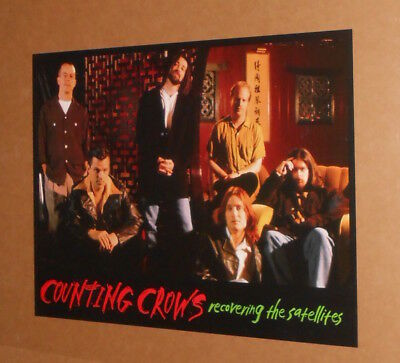 Counting Crows Recovering the Satellites Promo 2-Sided 1996 Poster 24x18