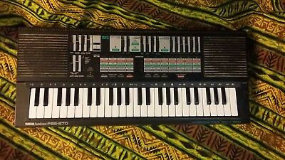 Yamaha PSS-570 vintage Portosound keyboard for circuit bent project.