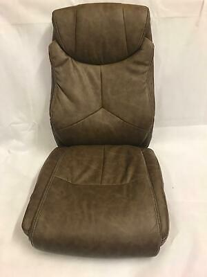 X-Rocker Leather Effect Executive Chair - Brown  RH0023