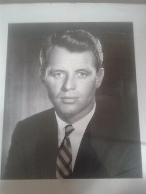 Robert Kennedy signed autographed photo with signed letter