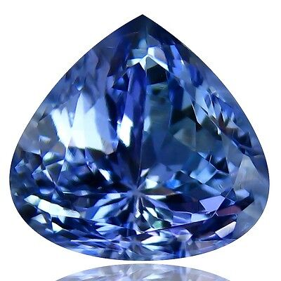 Natural earth mined Tanzanite, Pear Shape, 2.83ct GIL certified55