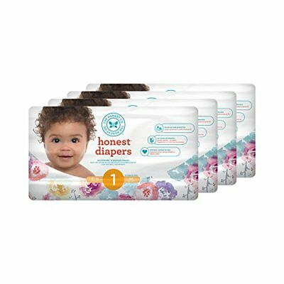 Honest Baby Diapers Rose Blossom Size 1 176 Count