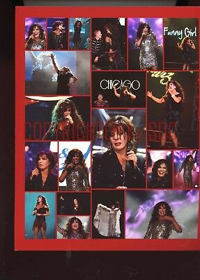 1, 8x10 photo - Marie Osmond (collage - red border) - #1