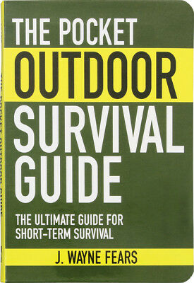 Books BK186 The Pocket Outdoor Survival Guide By J Wayne Fears Paperback