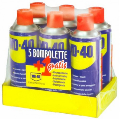Wd-40 Lubricant Spray Pack Pz 6 Ml 400 Colors