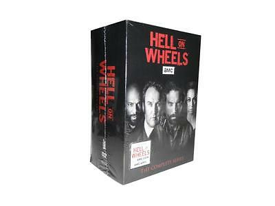 Hell on Wheels: The Complete Series Seasons 1-5 (DVD, 17-Disc Set) 1 2 3 4 5