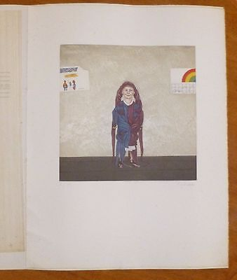 Josef Bramer Numbered Signed Print from 1989