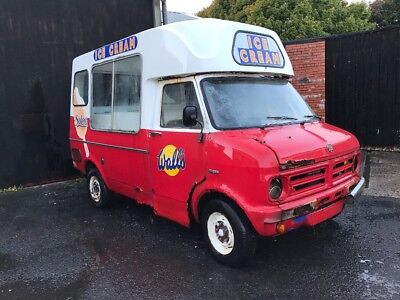 Classic Bedford Cf Morrison Ice Cream Van - Restoration Project or Parts - 1977