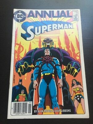 Superman Annual #11 Canadian Newsstand Price Variant 1985 VF