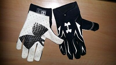 Under Armour UA American Football Receiver Gloves size XL
