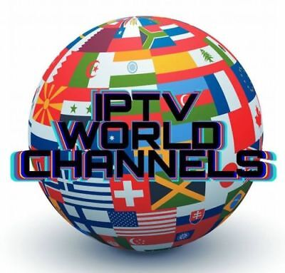 1 Month World Wide IPTV SUBSCRIPTION ALL Nation Best Server OVER 3300 CHANNELS