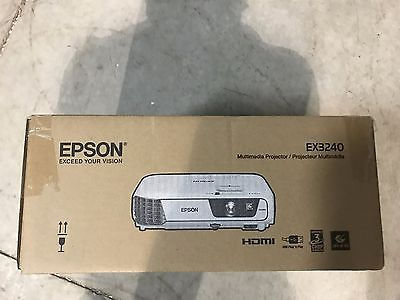 Epson EX3240 SVGA 3LCD Projector V11H719020-F